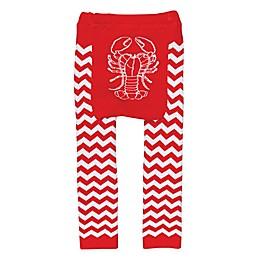 Doodle Pants® Lobster Leggings in Red/White