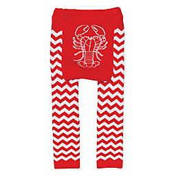 Doodle Pants® Lobster Leggings in Red/White