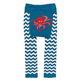 Doodle Pants® Chevron Octopus Leggings in Teal