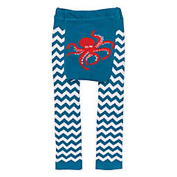 Doodle Pants® Chevron Octopus Leggings in Teal