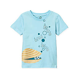 Doodle Pants® Clam Shell T-Shirt in Blue