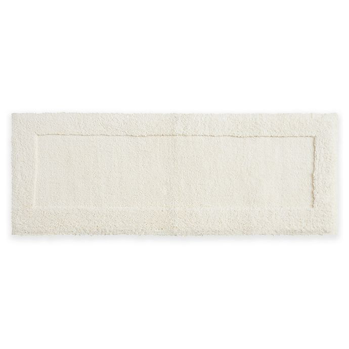 Alternate image 1 for Mohawk Home Dynasty 24-Inch x 60-Inch Bath Rug in Parchment White