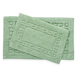 Greek Key 2-Piece Bath Rug Set
