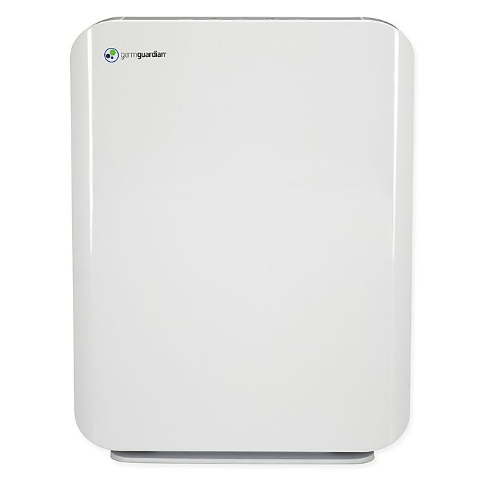 Alternate image 1 for GermGuardian® Mid-Size Console HEPA Air Purifier in White