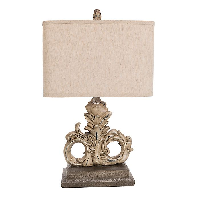 Alternate image 1 for Surya Zephyr Table Lamp in Off-White