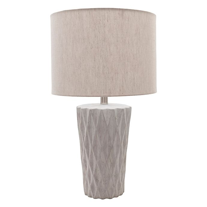 Alternate image 1 for Surya Lewats Table Lamp in Light Grey
