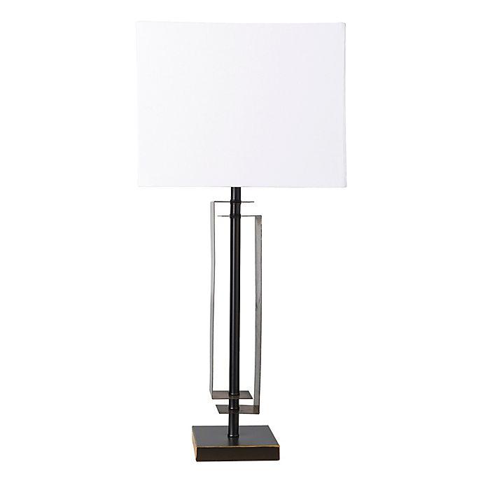 Alternate image 1 for Surya Aldine Table Lamp in Black