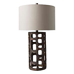 Surya Prestwood Table Lamp in Bronze