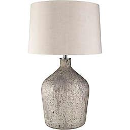 Surya Antium Table Lamp in Ivory/Grey
