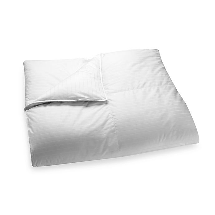 Alternate image 1 for Palais Royale™ Light Warmth White Goose Down Comforter