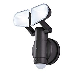 Good Earth Lighting Ecolight Battery-Operated 2-Head LED Motion-Activated Light