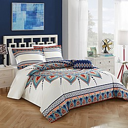 Chic Home Cortes Reversible Duvet Cover Set