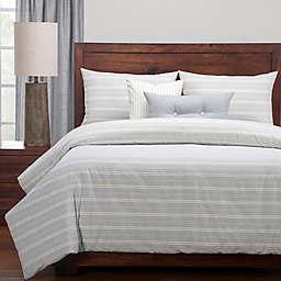 SISovers® Cottage Full Duvet Cover Set in Grey/Beige