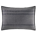 ED Ellen DeGeneres Nomad Oblong Throw Pillow in Dark Grey