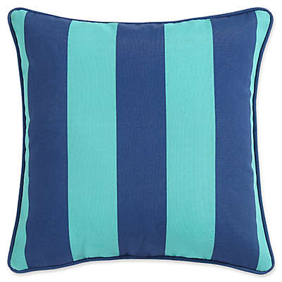 Clairebella Cabana Stripe Indoor/Outdoor Square Throw Pillows (Set of 2)