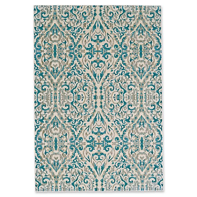 Alternate image 1 for Feizy Rugs Keaton 7-Foot 10-Inch x 11-Inch Area Rug in Turquoise
