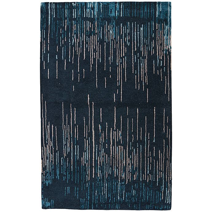 Alternate image 1 for Jaipur Messina 2-Foot x 3-Foot Accent Rug in Blue/Taupe