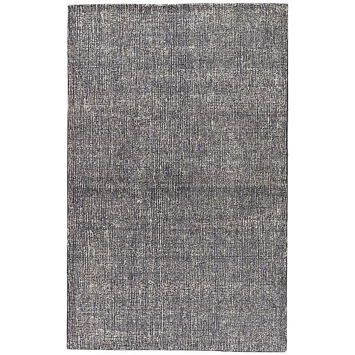 Alternate image 1 for Jaipur Britta 9-Foot x 12-Foot Area Rug in Dark Grey