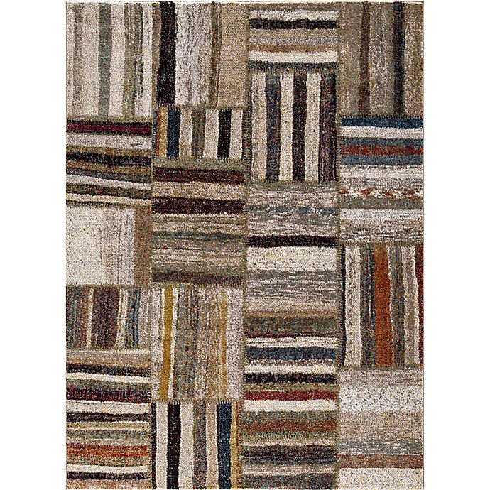 Alternate image 1 for Diamond Urban 5-Foot 7-Inch x 7-Foot 3-Inch Area Rug in Ivory
