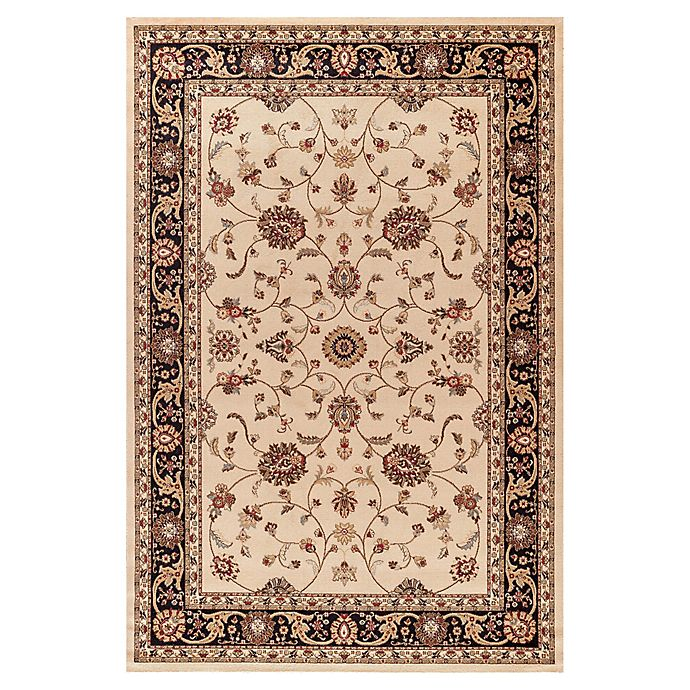 Alternate image 1 for Jewel Collection Marash 7-Foot 10-Inch x 9-Foot 10-Inch Area Rug in Ivory
