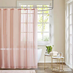 Madison Park Anna Sheer Shower Curtain