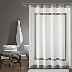 Madison Park Greyson 72-Inch x 72-Inch Shower Curtain in Grey