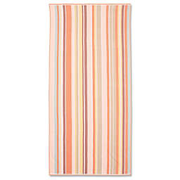 Stripe Beach Towel in Blush