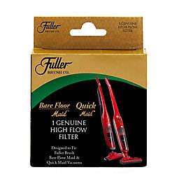 Fuller Brush High-Flow Filter in Black