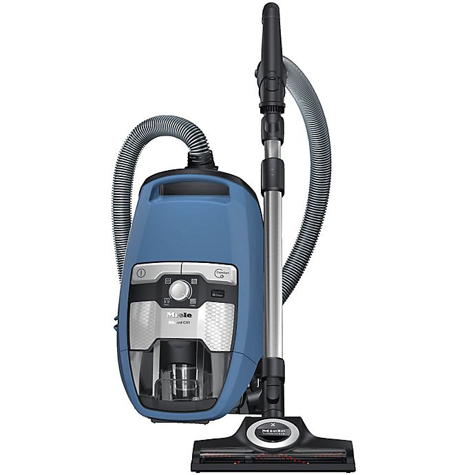 Alternate image 1 for Miele Blizzard CX1 Total Care Bagless Vacuum in Tech Blue