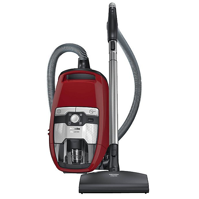 Alternate image 1 for Miele Blizzard CX1 Cat & Dog Bagless Vacuum in Autumn Red