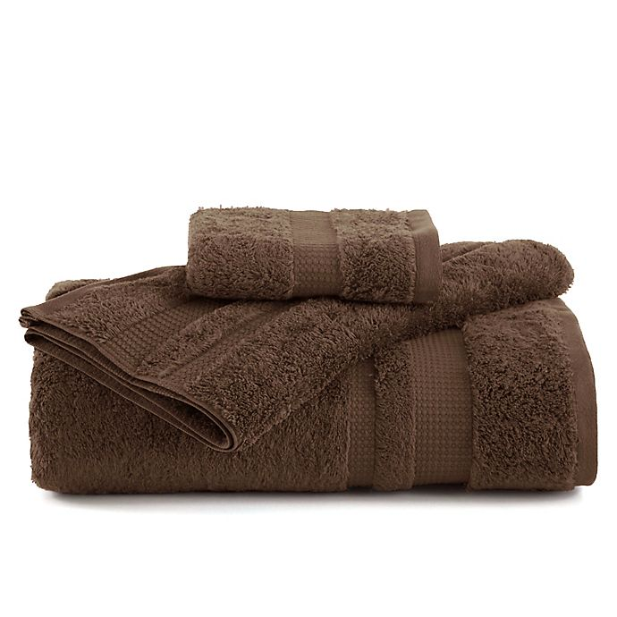 Alternate image 1 for Martex® Supima Luxe Bath Towel in Dark Brown
