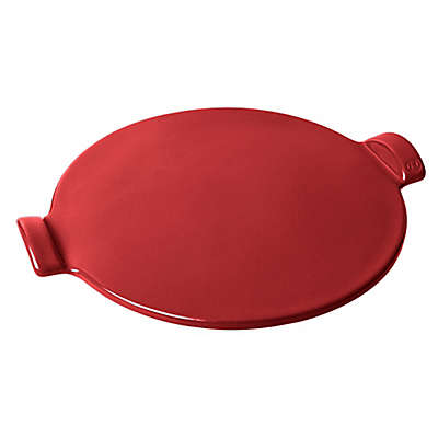 Emile Henry 14.5-Inch Pizza Stone in Burgundy