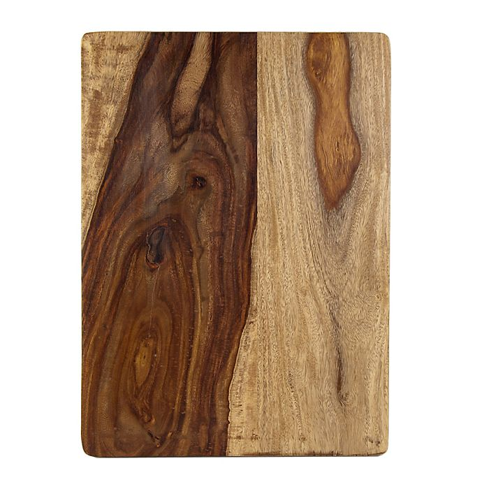 Alternate image 1 for Architec® 12-Inch x 16-Inch Gripperwood™ Gourmet Sheesham Cutting Board
