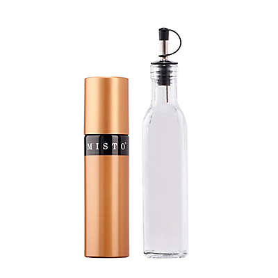 Misto® Olive Oil Sprayer & Oil Bottle in Copper