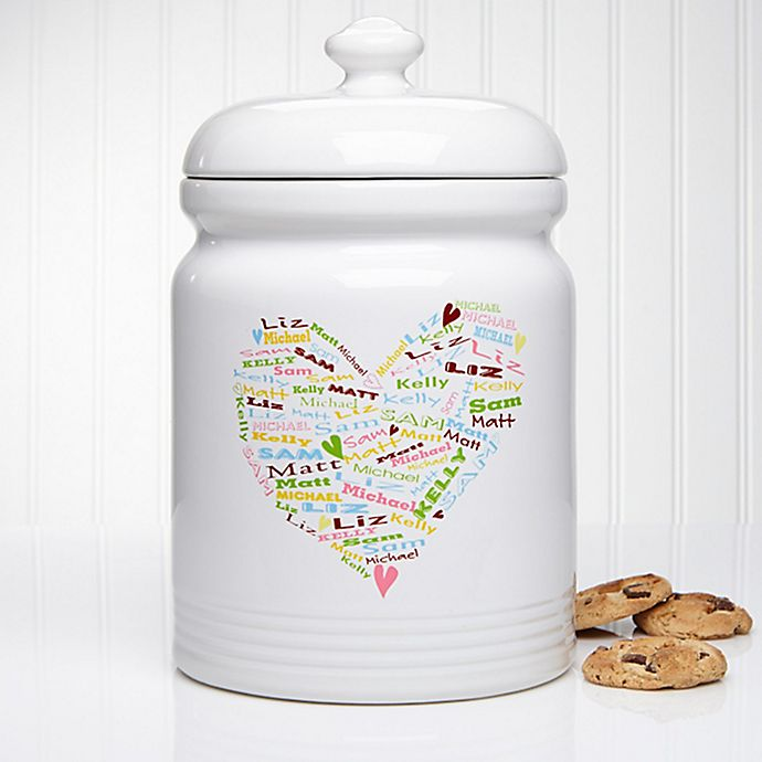 Alternate image 1 for Her Heart of Love 10.5-Inch Cookie Jar