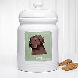 Top Dog Breeds 10.5-Inch Dog Treat Jar