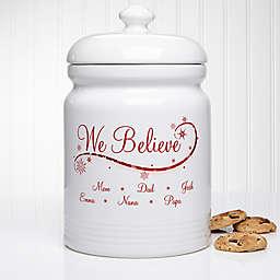 We Believe 10.5-Inch Cookie Jar