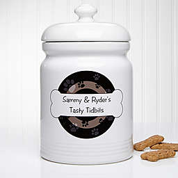 Throw Me A Bone 10.5-Inch Treat Jar