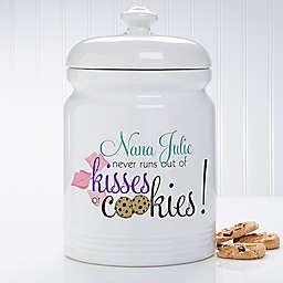 Kisses and Cookies Cookie Jar