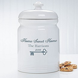 Key To Our Home 10.5-Inch Cookie Jar