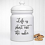 Kitchen Expressions 10.5-Inch Cookie Jar
