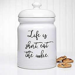 Kitchen Expressions 10.5-Inch Cookie Jar