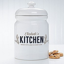 Her Kitchen 10.5-Inch Cookie Jar