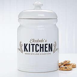 Her Kitchen 10.5-Inch Cookie Jar