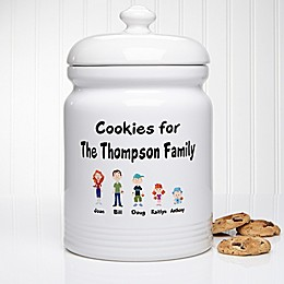 Our Family Characters 10.5-Inch Cookie Jar