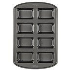 Wilton® Perfect Results Nonstick 8-Compartment Mini Loaf Pan