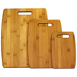 Oceanstar 3-Piece Bamboo Cutting Board Set in Natural