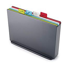 Joseph Joseph®  Large 4-Piece Index™ Color-Coded Cutting Board Set