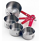 BergHOFF® 4-Piece Measuring Cup Set in Red/Silver