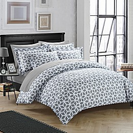 Chic Home Avaline 3-Piece Reversible Duvet Cover Set